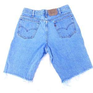 """Vintage Levi's 550 Cut Off Shorts 32"""""""